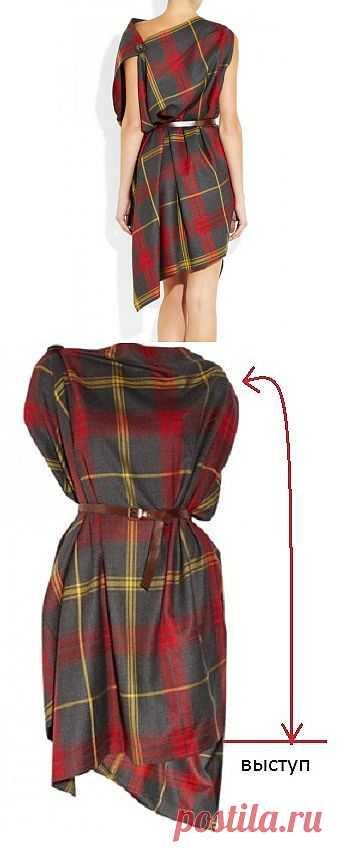Платье Вивьен Вествуд (мастер-класс) / Простые выкройки / Модный сайт о стильной переделке одежды и интерьера