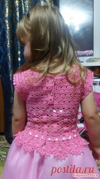 Платья в подарок - Вязание для детей - Страна Мам