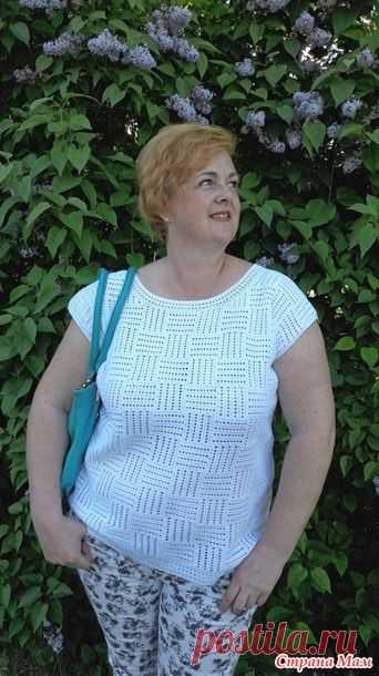 Связала себе топ в интересной технике (Вязание крючком) – Журнал Вдохновение Рукодельницы
