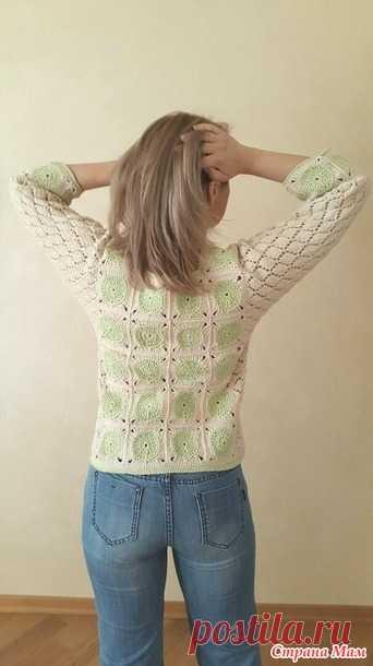 Лёгким движением рук плед превращается... в пуловер - Вязание - Страна Мам