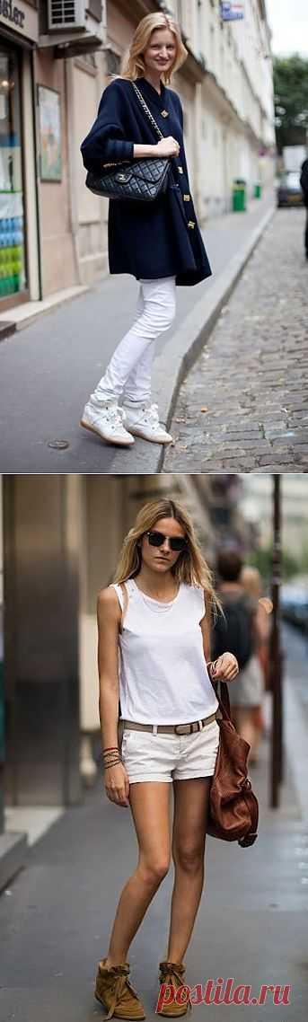 Кроссовки от Isabel Marant (подборка образов) / Как носить? / Модный сайт о стильной переделке одежды и интерьера