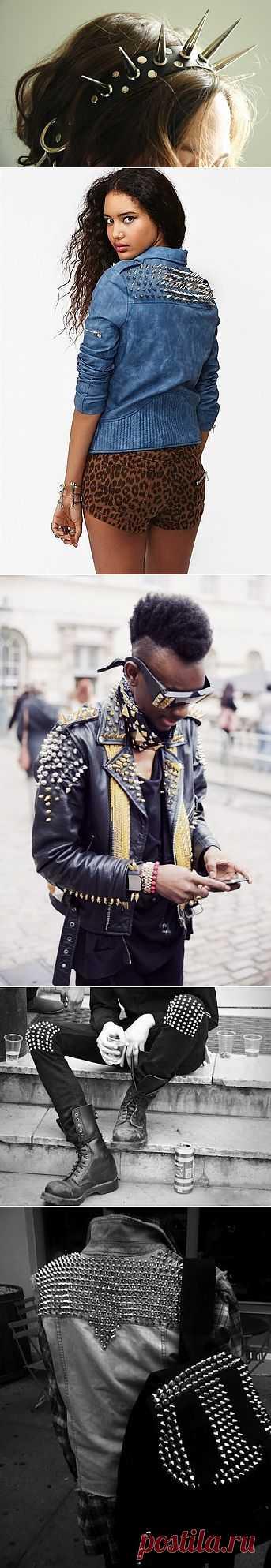 Новая подборка шипастых / Декор / Модный сайт о стильной переделке одежды и интерьера