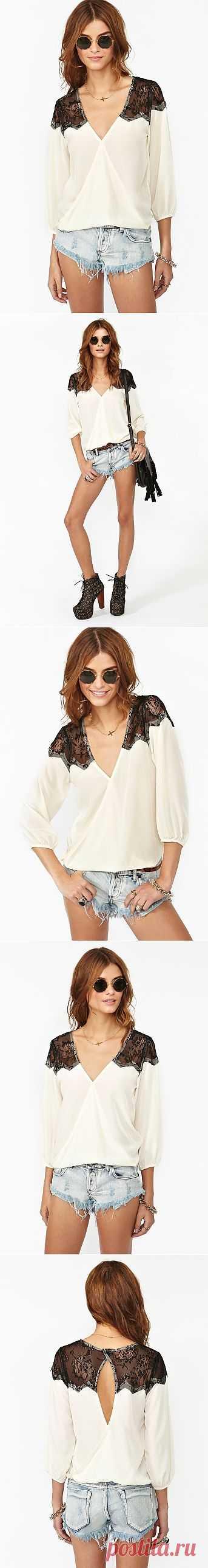 Интересная блузка Nasty Gal / Блузки / Модный сайт о стильной переделке одежды и интерьера