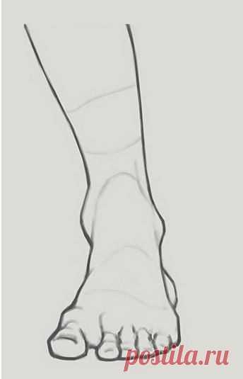 Как правильно нарисовать правдоподобную ногу: мастер-класс