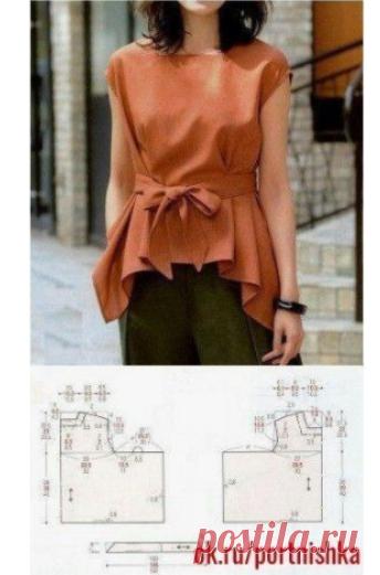 Портной • Шитье, переделки - легко!Блузки! Простые выкройки для начинающих!