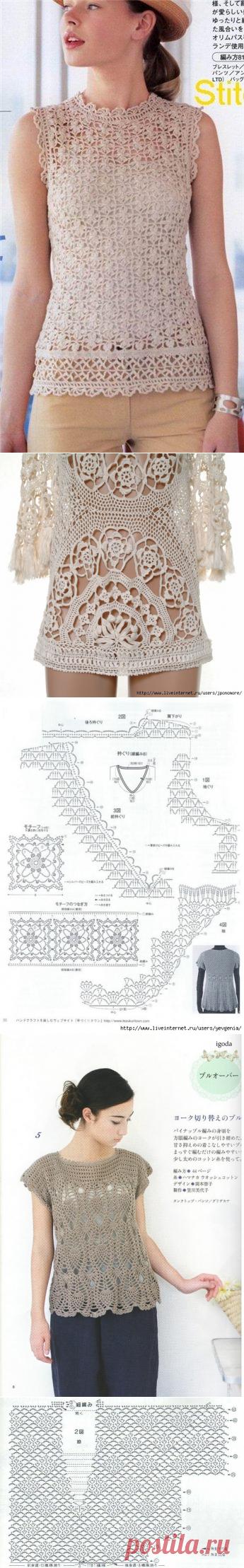 Японские схемы крючок