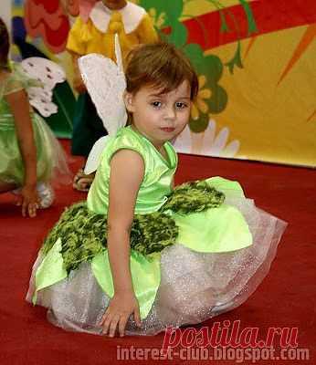 Костюм феи: платье, крылья, волшебная палочка / Для детей / Модный сайт о стильной переделке одежды и интерьера