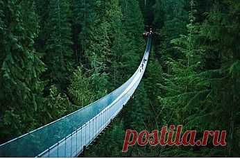 мост в канаде