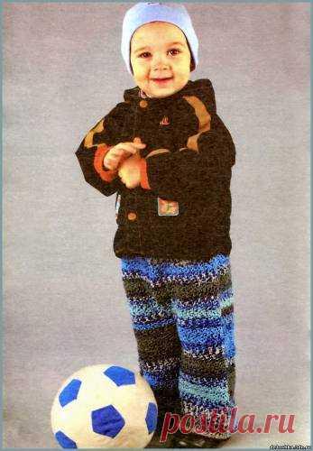 вязаные штаны для мальчика вязание крючком для детей вязание