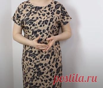 Показываю пошагово, как сшить летнее платье без выкройки за 20 минут любого размера, любой длины и на любую фигуру. | На шпильках в 50. | Яндекс Дзен