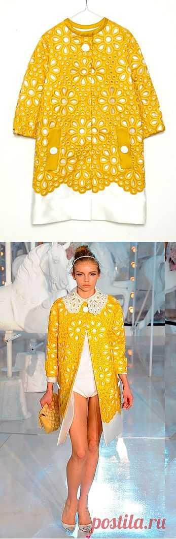 Пальто Louis Vuitton / Дизайнеры / Модный сайт о стильной переделке одежды и интерьера