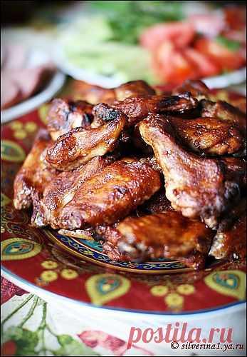 Крылышки по-канадски - кулинарный рецепт