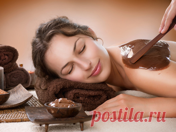 Chocolate massage: how to make in house conditions