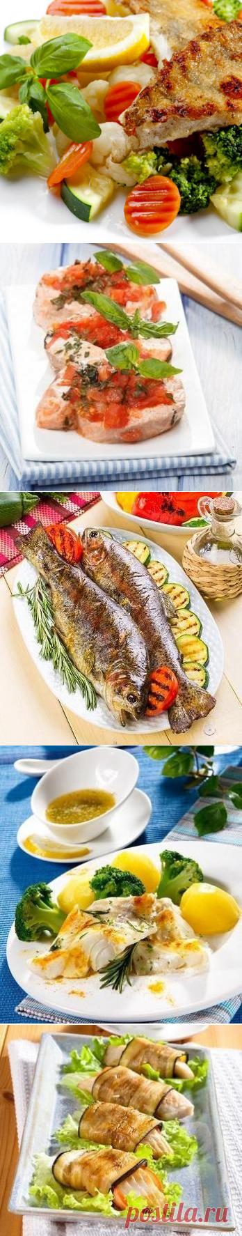 Рыба с овощами: 10 блюд для легкого ужина