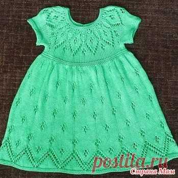Ищу описание платья для девочки - Вязание для детей - Страна Мам