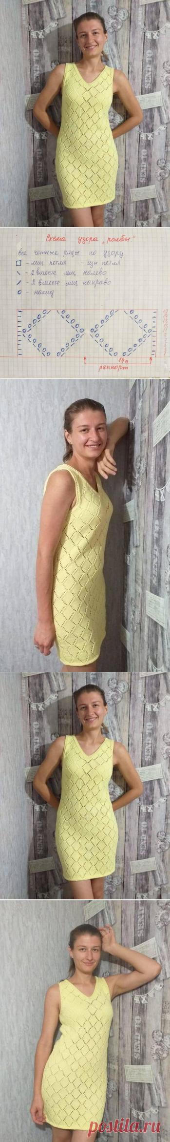 Для дочери моей подруги связала такое лимонно-желтое платье (ИДЕИ ДЛЯ ВДОХНОВЕНИЯ) – Журнал Вдохновение Рукодельницы