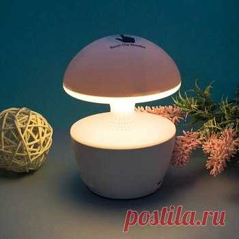 😇 Это интересное интерьерное решение для спален, гостиных и детских. Внешне он напоминает обычный осветительный прибор, но на самом деле включает в себя множество функций!