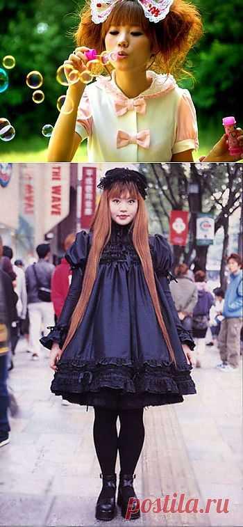 """Японские """"Лолиты"""" (Трафик!) / Субкультура / Модный сайт о стильной переделке одежды и интерьера"""