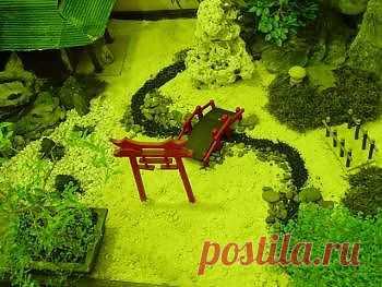 Японский мини сад
