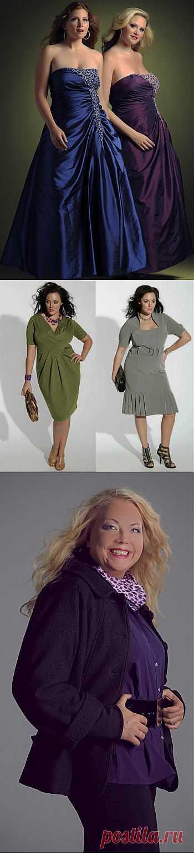 Мода для полных женщин, модная одежда больших размеров