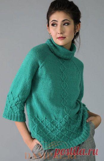Женский пуловер «Haloclasty» | DAMские PALьчики. ru