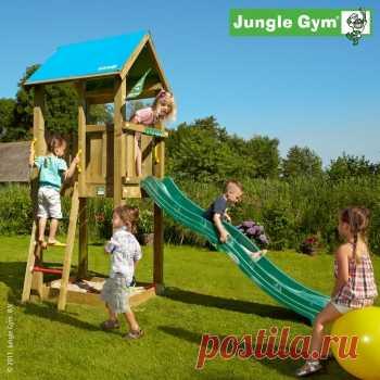 Детский городок Jungle Gym Castle (Джангл Джим Кастл), описание, фото, цены