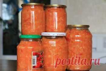 Рецепт салата с помидорами и рисом на зиму - Овощи на зиму . 1001 ЕДА вкусные рецепты с фото!