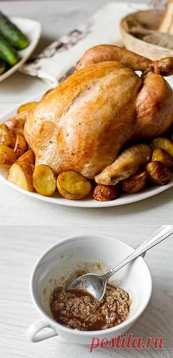 Цыпленок в пряном маринаде. Ароматное и нежное мясо цыпленка, приготовленного по этому рецепту, порадует вкус практически любого любителя птицы.