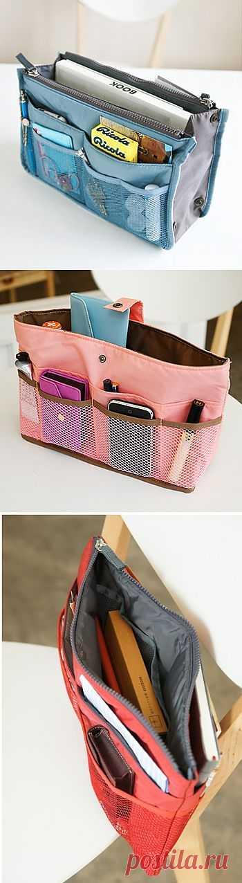 Органайзеры для сумок (подборка идей) / Организованное хранение / Модный сайт о стильной переделке одежды и интерьера