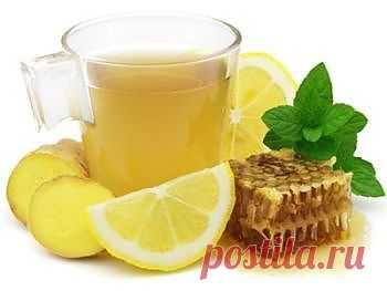 (+1) тема - Вода с лимоном и имбирем | Диеты со всего света