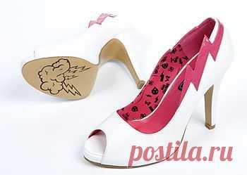 Идеи для раскраски (: (подборочка) / Обувь / Модный сайт о стильной переделке одежды и интерьера
