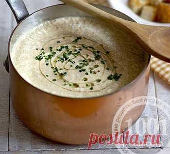 Рецепт грибного супа-пюре с сыром