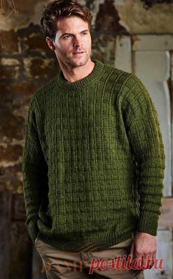 Мужской пуловер «Selwood» | DAMские PALьчики. ru