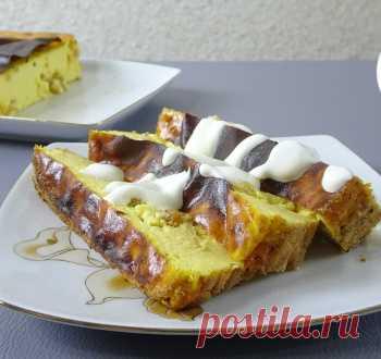 Нежный десерт с тыквой и творогом / Запеканки / TVCook: пошаговые рецепты с фото