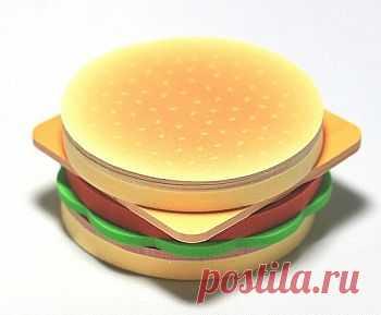 """Стикеры """"Гамбургер"""" - 320,00 р."""