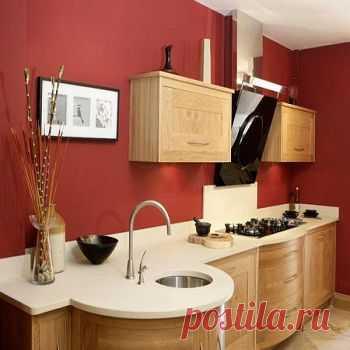 покраска стен на кухне дизайн фото 2