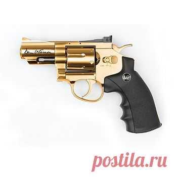 Револьвер пневматический ASG Dan Wesson 2,5 золото (17374), Интернет магазин PRIMA vasta