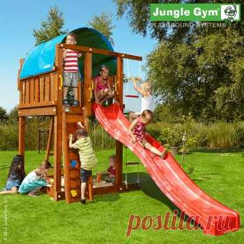 Детский городок Jungle Gym Villa (Джангл Джим Вилла), описание, фото, цены