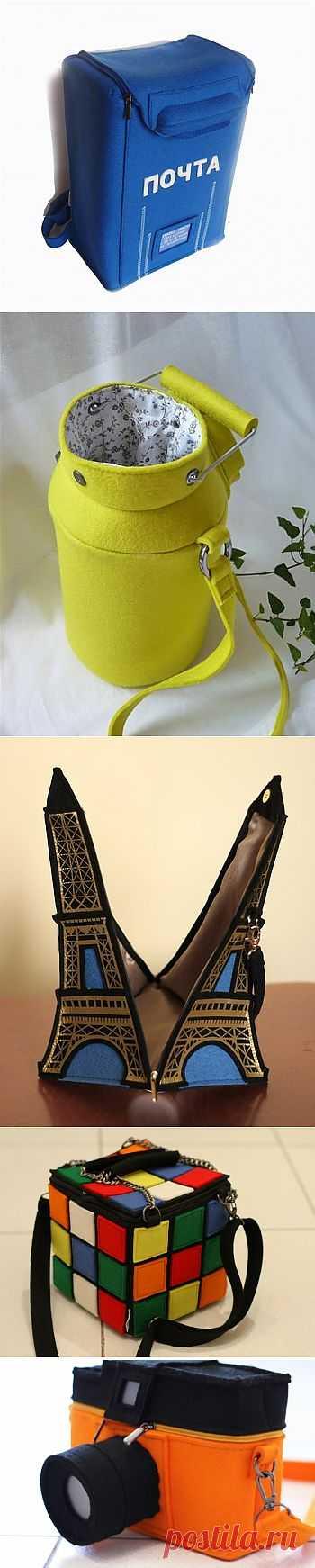 Не как у всех / Сумки, клатчи, чемоданы / Модный сайт о стильной переделке одежды и интерьера