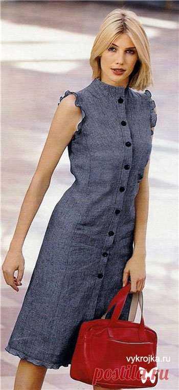 El patrón del vestido - bajar el patrón del vestido gratis con выкройка.ру Página 0