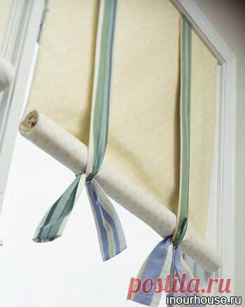 Рулонные шторы своими руками