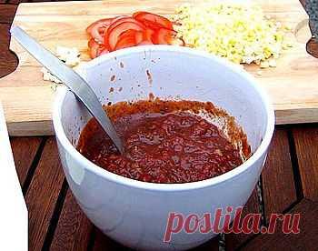 Сацебели, лучший соус к птице - Соус, маринад для шашлыка, соус барбекю . 1001 ЕДА вкусные рецепты с фото!