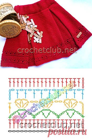 теплая юбка крючком вязание крючком блог настика вязание для