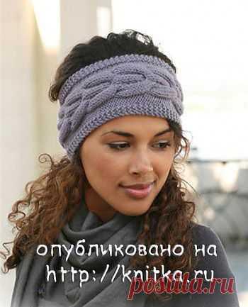 Вязаные повязки на голову из рубрики Вязание для женщин. Вязание спицами модели и схемы на kNITKA.ru