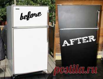 Как в домашних условиях перекрасить холодильник — Своими руками