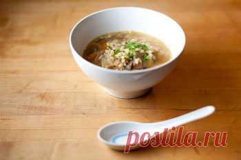 Как приготовить грибной суп из лисичек на мясном бульоне