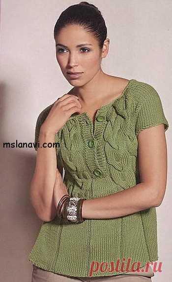 La blusa amable tejida de Lana Grossa | Tejemos con Lana Vi