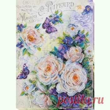 Квіти для коханої AB-716 / Абрис Арт / Набори для вишивки бісером / Вишивання на Zinzilin.com