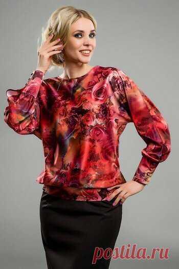 Блузка за час . Как сшить очень просто красивую блузку.   модница ... 3d4f1cca95c
