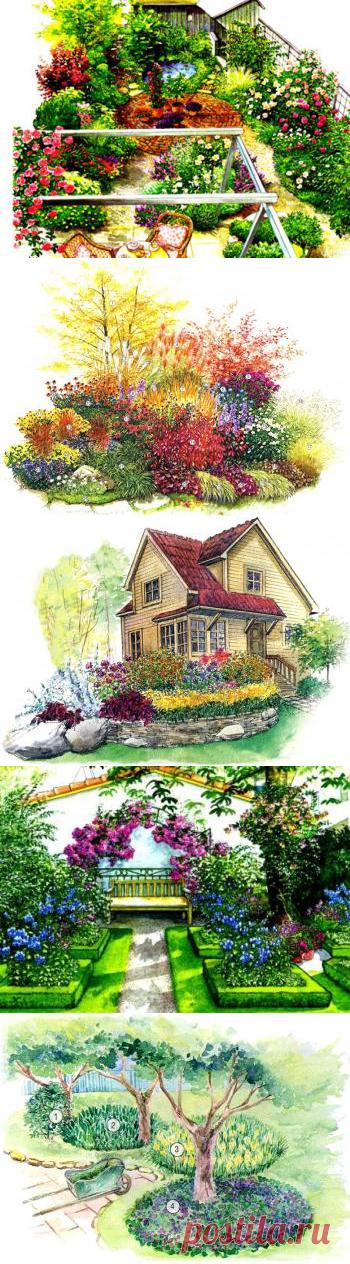 Los esquemas preparados y los proyectos de los macizos de flores, miksborderov, - el Foro para todos los casos